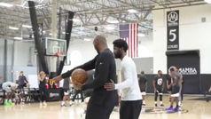 Kyrie Irving se pone a punto con las lecciones de Kobe Bryant