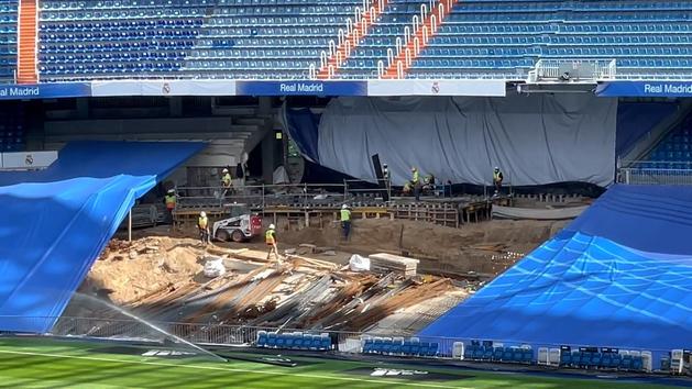 Así van las obras del Bernabéu: Los obreros se enfocan en el interior