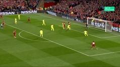 Gol de Wijnaldum (3-0) en el Liverpool 4-0 Barcelona