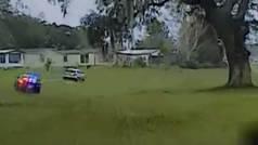 """Persecución policial en el golf a un hombre al que """"la gente le comía el cerebro"""""""
