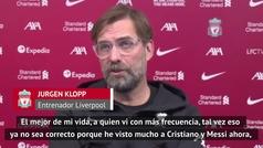 """Klopp explica cómo se podría haber ayudado a Maradona:""""Mostrando nuestro amor sin pedirle un selfie"""""""