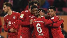 Bundesliga (J22): Resumen y goles del Augsburgo 2-3 Bayern Múnich
