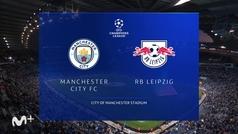 Champions League (J1): resumen y goles del Manchester City 6-3 Leipzig