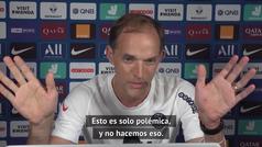El enfado de Tuchel con un periodista que le preguntó por Neymar y Mbappé