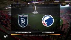 Europa League (octavos, ida): Resumen y goles del Basaksehir 1-0 Copenhague