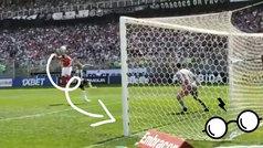 El gol 'mágico' de (Harry) Pottker: ¡el efecto del balón parece un hechizo!