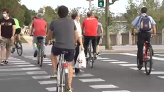 La ?nueva normalidad? se mueve en bicicleta
