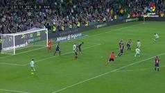 Gol de Loren (1-3) en el Betis 1-4 Barcelona