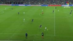 Gol de oro: Gol de Loren (1-0) en el Betis 3-3 Celta