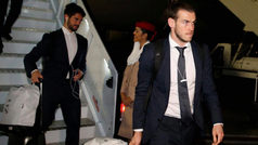 El Real Madrid ya está en Abu Dabi