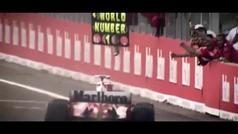 Mick Schumacher pilota el Ferrari F2002 de su padre antes de ser subastado por 7.5 millones