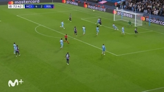 Gol de Nkunku (4-3) en el Manchester City 6-3 Leipzig