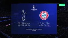 Champions League (Grupo B): Resumen y goles del Tottenham 2-7 Bayern Múnich