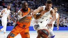 Liga ACB. Resumen: real Madrid 83-77 Valencia
