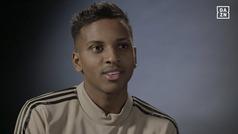 """Rodrygo: """"Antes de fichar por el Madrid fui a casa de Pelé y me dio su bendición"""""""