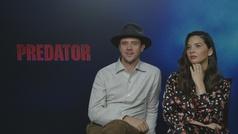"Boyd Holbrook y Olivia Munn: ""Cristiano es el 'Predator' del fútbol"""