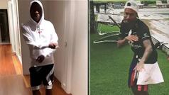 Vinícius Júnior y Neymar bailan por 'Gran Hermano' en sus confinamientos