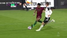 Como en Oliver y Benji, el gol de Adama podría haber roto la red, ¡qué latigazo!