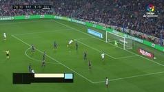 Gol de Sarabia (3-1) en el Barcelona 4-2 Sevilla