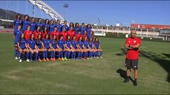El Athletic Club presenta su equipo femenino