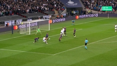 Gol de Kane (1-2) en el Tottenham 2-4 Barcelona