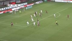 El genial taconazo de Iniesta en su regreso a los terrenos de juego