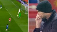 Mendy no es Ter Stegen con el balón en los pies: ¡a Lampard casi le da un ataque en esta acción!
