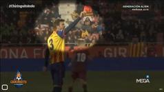 """Así mandó callar Piqué a los que gritaban """"Pu** España"""""""