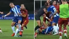 La agresión de Pepe a Mkhitaryan que pudo lesionarle de gravedad