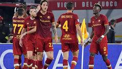 La Roma recupera la senda de la victoria (1-0) ante el Udinese