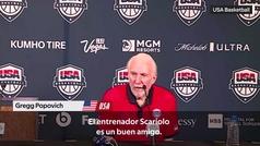 El genial piropo de Popovich sobre el juego de la selección española