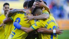 LaLiga 123 (J21): Resumen y goles de Las Palmas 4-1 Osasuna