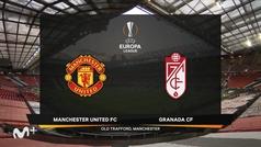 Europa League (1/4, vuelta): Resumen y goles del Manchester United 2-0 Granada
