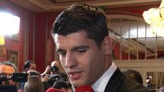 """Morata: """"Con que sea un gran año es suficiente y que ganemos algún título"""""""