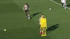 Bale y Jovic no entrenan por una gastroenteritis