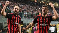 Europa League (J2): Resumen y goles del AC Milan 3-1 Olympiacos