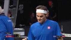El genial punto de Federer para ganar a Kyrgios