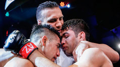 """José Alday: """"Sabía que iba a ser una pelea dura pero lo pude conectar"""""""