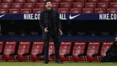 """Simeone: """"El fútbol es partido a partido"""""""