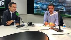 """Bartomeu: """"El objetivo número uno siempre es la Liga"""""""