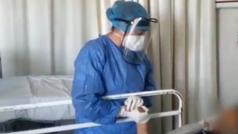 Enfermera canta a sus pacientes que luchan contra el coronavirus en Jalisco