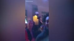 Michael Jordan, cazado de fiesta con los jugadores de los Hornets