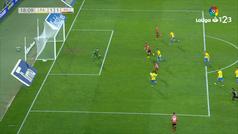 El gol del Gran Canaria que el VAR hubiera fulminado