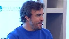 Fernando Alonso: ?Si hago el Dakar, un 1% de mi cabeza pensará en ganarlo?