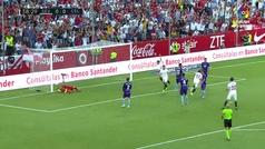 Gol de Sarabia (1-0) en el Sevilla 2-1 Celta