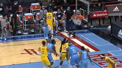 La vacilada de LeBron y su triple 'sin mirar' reinan en la NBA