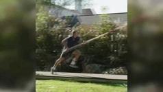 Duplantis vuelve a saltar en su patio