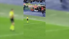 Así fue la acalorada reacción de Mourinho tras ser expulsado: ¡Y le aplaudieron!