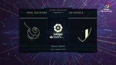 MX: LaLiga (J7): Resumen y goles del  Real Sociedad 4-1 Huesca