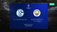 Champions League (octavos, ida): Resumen y goles del Schalke 2-3 Manchester City